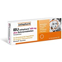 Preisvergleich für Ibu-ratiopharm 400 akut Tabletten, 10 St.