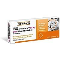 Ibu-ratiopharm 400 akut Tabletten, 10 St. preisvergleich bei billige-tabletten.eu