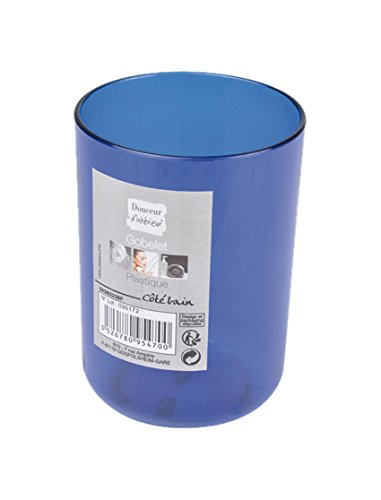 Interior-Suavidad-6ASB223BF-Cliz-de-bao-de-plstico-azul-translcido-Rey-7-x-7-x-10-cm