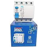 JMD GOLD Rccb Four Pole 63 AMP/100MA 240 V Residual Current Circuit Breaker ISI Mark MCB