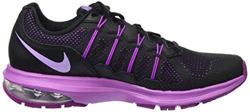 Nike Damen Air Max Dynasty Laufschuhe Schwarz (Black/Urban Lilac-Hyper Violet)