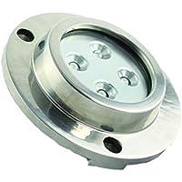 Aqua LED 12V Bajo Agua Proyección Blanco Spot montaje redondo IP68
