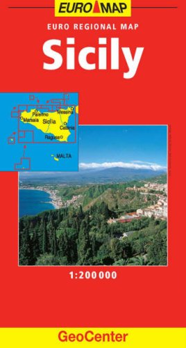 Sicily GeoCenter Detail Map