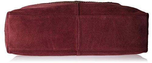 Cinque Damen Carla Henkeltasche, 12x38x54 Cm Rot (burgundy)