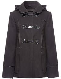 Anastasia - Womens Hooded Winter Warm Duffle Coat