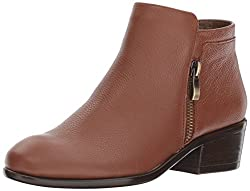 Aerosoles Womens Mythology Boot, Dark Tan Leather, 5.5 M US
