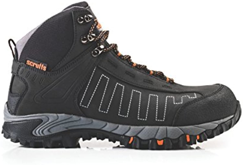 Scruffs Cheviot – Zapatillas de seguridad botas negro tamaño 10