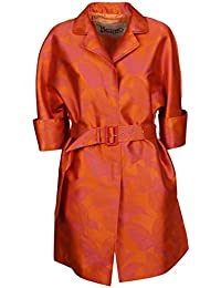 Herno Mujer CA0286D12229J5500 Naranja Poliamida Trench Coat