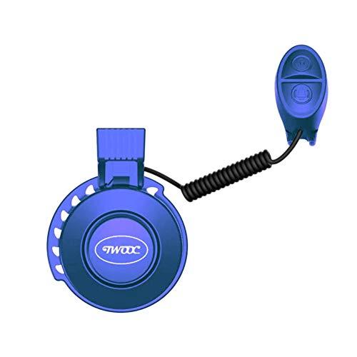 ZDLF USB wiederaufladbare elektrische Hupe wasserdicht praktisch langlebig hochwertige Fahrrad Hupe