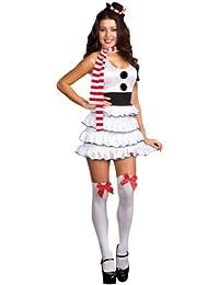 Frauen Sexy Geheime Snowgirl Halloween Kost¨¹m