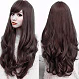 Pema Hair Extensions And Wigs Full Head Long Wavy Hair Wigs for Women