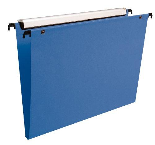esselte-lot-de-10-dossiers-suspendus-tiroirs-vmg-fond-15-mm-pp-bleu