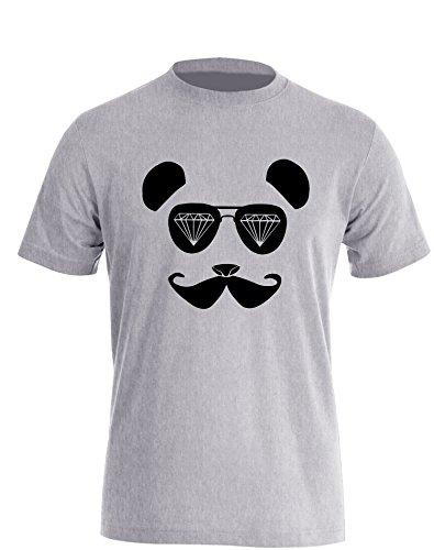 Panda Dope Sonnenbrille - Herren TShirt Grau / Schwarz