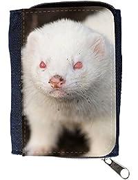 le portefeuille de grands luxe femmes avec beaucoup de compartiments // V00002853 hurón albino // Purse Wallet
