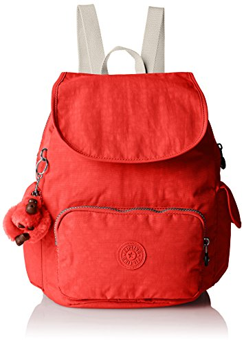 Kipling City Pack S - Mochila tipo casual, rosa (Coral Rose C)