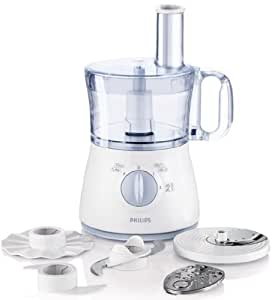 Philips hr7620 70 daily collection robot da cucina 500 w 2 l acciaio inossidabile blu bianco - Robot da cucina philips essence ...