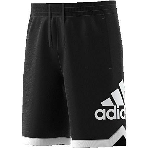 Court Basketball Shorts (adidas Herren SPT Bos Shorts, Black, S)