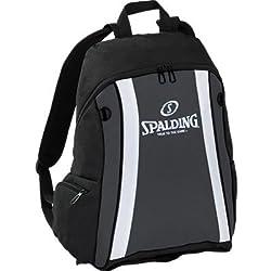 Spalding funda Backpack, color Varios colores - gris/negro/blanco, tamaño 47 x 39 x 19 cm, 35 Liter, volumen liters 35.0
