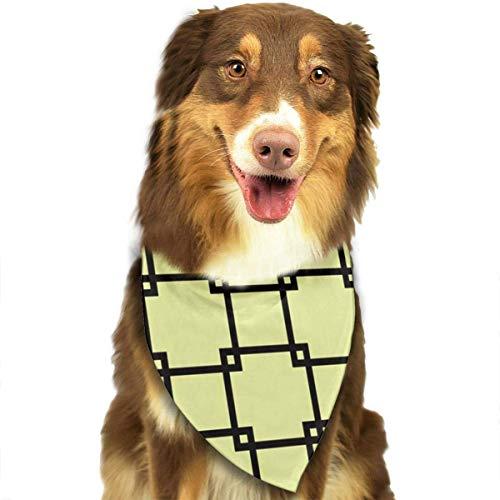 Osmykqe Lovely Square Hund Bandana Pet Schal für kleine mittelgroße Hunde Zubehör