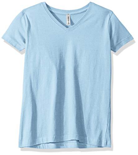AquaGuard Damen Combed Ringspun V-Neck 3 Pack T-Shirt, hellblau, XXX-Large - Cvc V-neck Tee