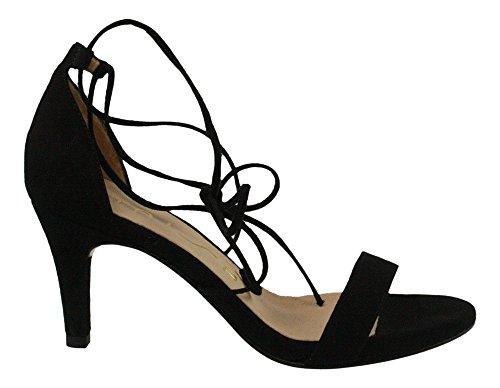 Unisa | Osana Riemchen Sandalette - schwarz Schwarz