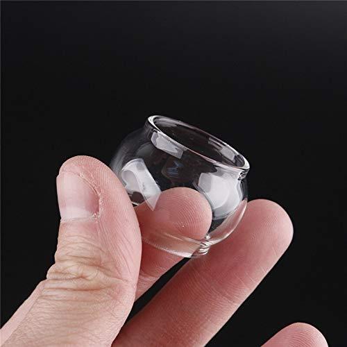Denghui-ec, 10 unids Glass Tube 4ml 5ml Atomizador