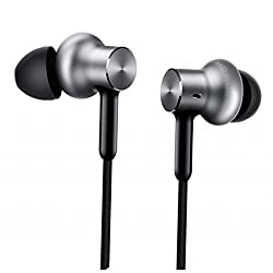 Xiaomi Mi In-Ear Pro HD Kopfhörer (In-Ear, Aluminium-Kopfhörer, Hybrid, Fernbedienung, Mikrofon) Silber