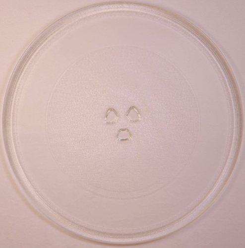 Mikrowellenteller / Drehteller / Glasteller für Mikrowelle # ersetzt Juno-Electrolux Mikrowellenteller # Durchmesser Ø 32 cm / 320 mm # Ersatzteller # Ersatzteil für die Mikrowelle # Ersatz-Drehteller # OHNE Drehring # OHNE Drehkreuz # OHNE Mitnehmer