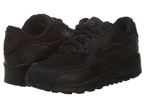 Nike Jungen Air Max 90 (Ps) Laufschuhe Schwarz / Grau (Schwarz / Dunkelgrau)
