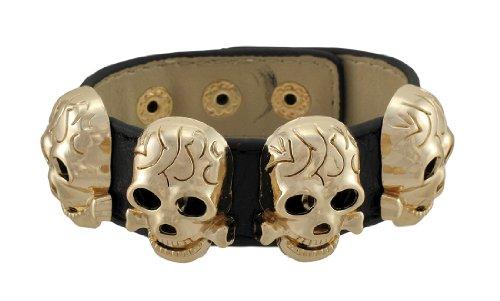t zutreffend  Kein Metall     keine Angabe  (Metal Skull Biker Kostüm)