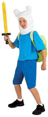 Adventure Time Deluxe Finn Costume - Time Finn-kostüm Adventure