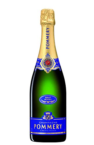 Pommery Brut Royal Champagner (1 x 0.75 l) Glas Cocktail Decanter