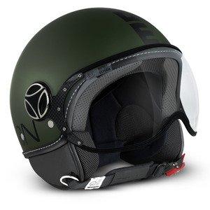 MOMO Design Casco CLASSIC Verde Militare Opaco, Taglia M