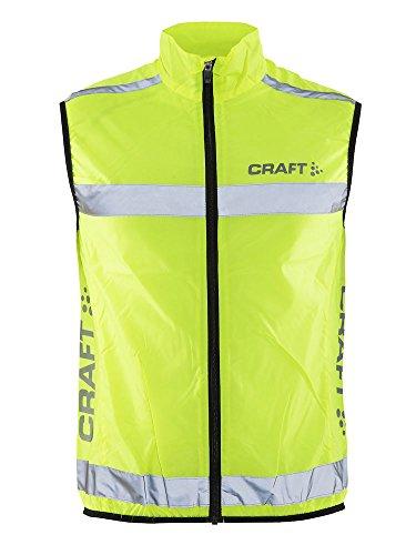 Craft, Gilet Uomo Visibility, Giallo (Neon), M