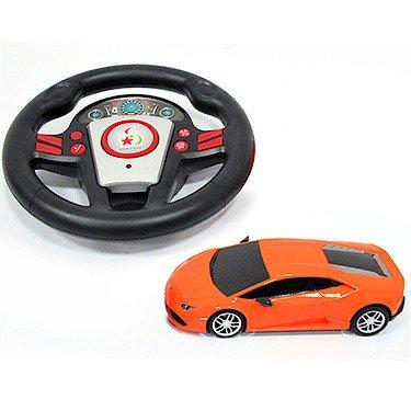 Lamborghini - Orange - Voiture Radiocommandée Echelle 1:24