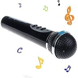 Malloom® Filles GarçOns Mic Micro Enfant De Chant Karaoké DrôLe De Cadeau Jouet De Musique