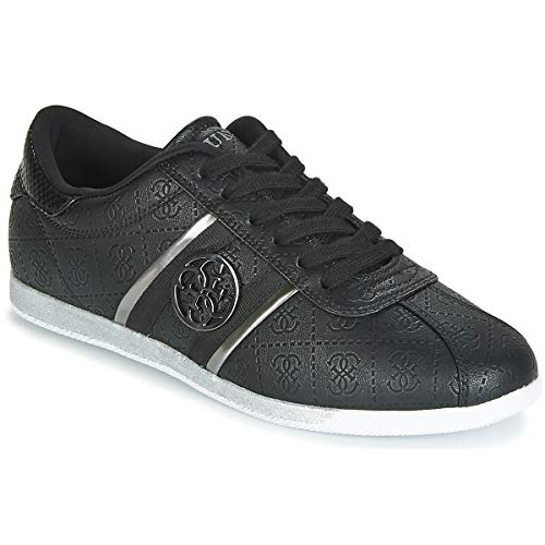 Guess Scarpe Donna Sneaker Bassa MOD. RYLINN Ecopelle col. Nero DS19GU53