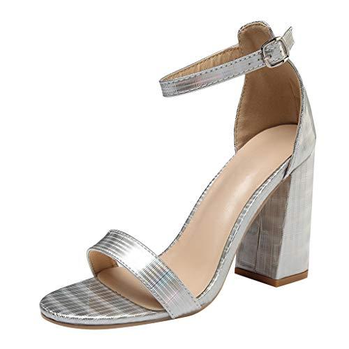 Makefortune 2019 Damen Sandals, Frauen Sommer Lässige Sommer Sexy Womens Cross Strap High Heels Hochzeit Prom Schuhe Pumps Sandalen Schuhe Strandschuhe Freizeitschuhe Turnschuhe Hausschuhe (Madden-strap Steve Pump)