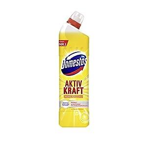 Domestos Wc Gel Aktiv Kraft Reiniger Citrus, 750 Ml, 3er Pack (3 X 750 Ml)