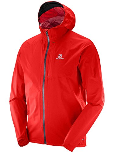 Salomon Bonatti Waterproof Jacket M Big Blue-X Rot