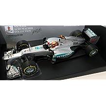 Mercedes W03 AMG, No.7, Petronas, GP Valencia , 2012, Modelo de Auto, modello completo, Minichamps 1:18