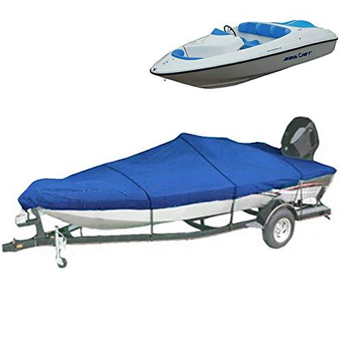 Bootsabdeckung, 600D Oxford Tuch Kajak Kanu Boot Abdeckplane Bootsplane Wasserdicht Staub Schutz UV-Beständig Cover Für Aufblasbares Boot/Schlauchboot,21/24FT