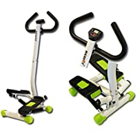 MAXOfit® Homestepper Greenline MF-15 con manubrio, Escaladora y Swing Stepper