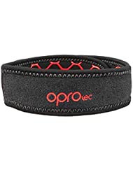 Opro Jumpers Knee Strap, Support Unisex Adulto, Black, One Size