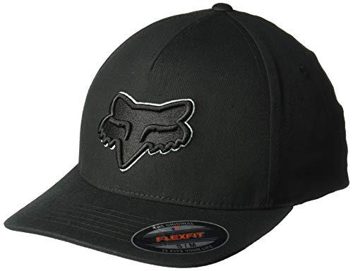 Fox Herren Epicycle Flexfit HAT Baseball Cap, schwarz/schwarz, Small/Medium