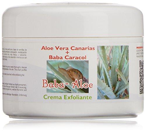 Babaloe 100110 - Crema exfoliante corporal con baba de caracol y aloe, 250 ml