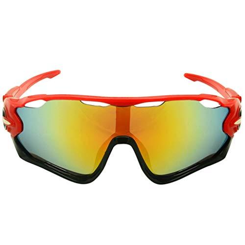 MmingS Home Brille UV-Sonnenbrille VR-Brille Outdoor-Reitbrille, Sonnenbrille PC...
