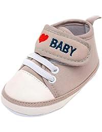 39b47f6ba Zapatos de Primeros Pasos para Unisex Bebés Niñas Niños Otoño Invierno  PAOLIAN Zapatillas Embroidered Amor Suela
