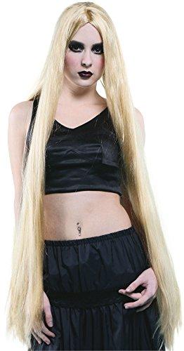 (Bristol Novelty BW210Lange Perücke, blond, One size, 101,6cm)