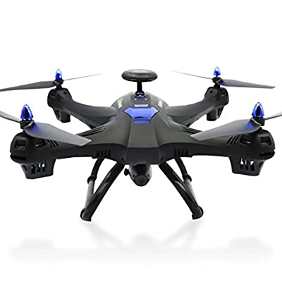 Lanspo Aircraft, Drone, Outdoor Toys, Aerial Photography, Global Drone X183 Global UAV with GPS Quadcopter 5GHz WiFi FPV 1080P Camera Rite